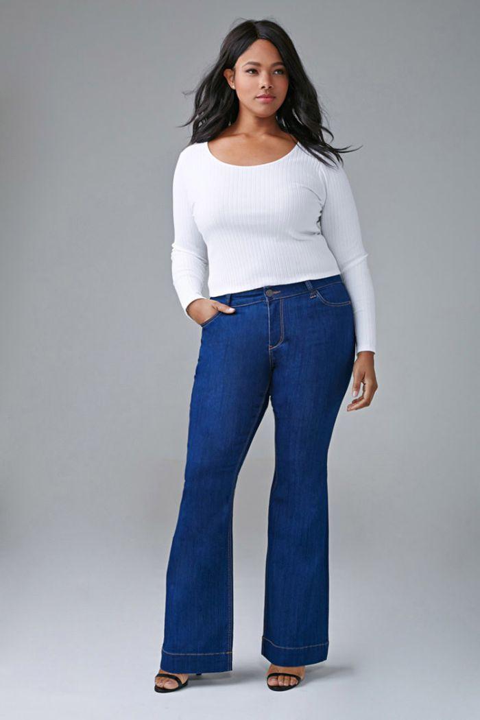pantalon grande taille femme les tendances automne hiver 2016 2017. Black Bedroom Furniture Sets. Home Design Ideas