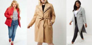 tendance manteau grande taille de couleur