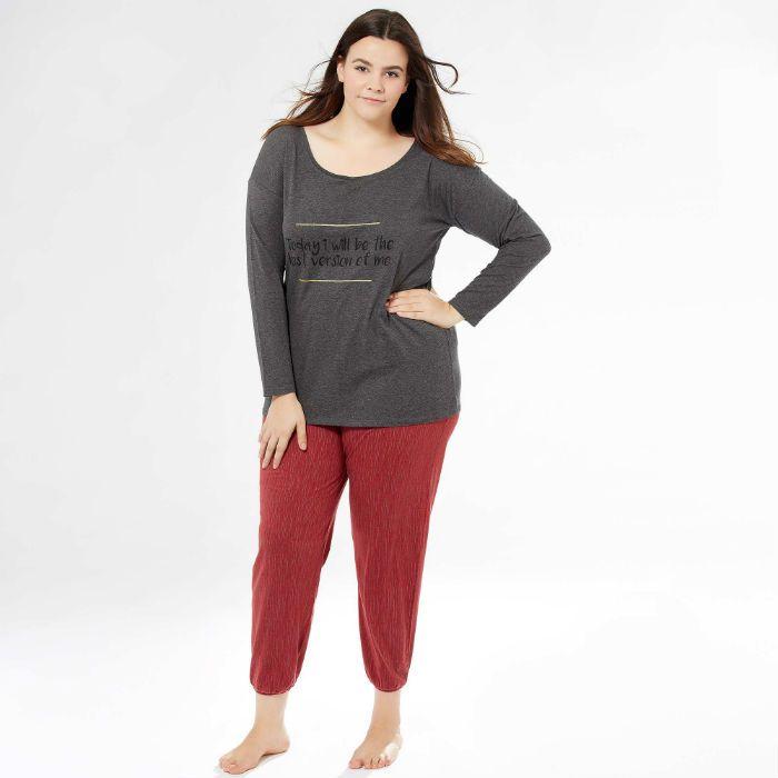 plutôt cool liquidation à chaud mode designer Pyjama grande taille femme : toutes les tendances 2016/2017