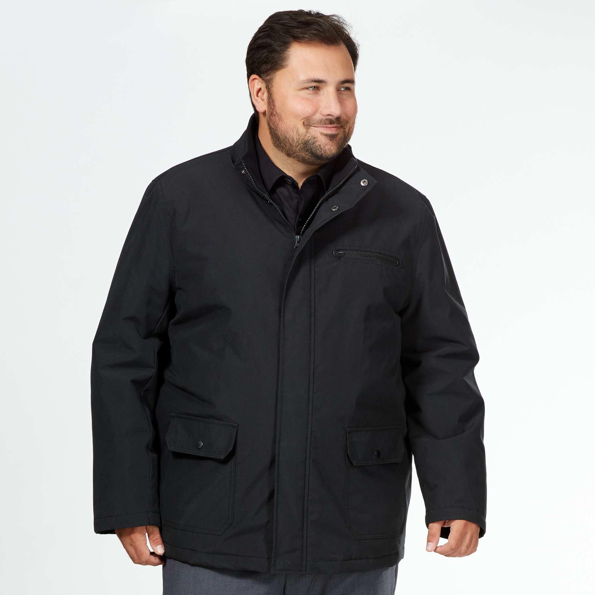 taille manteaux hommes
