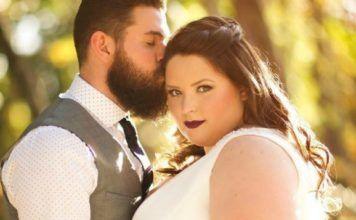 Sarah : la mariée ronde irrésistible dans sa sublime robe