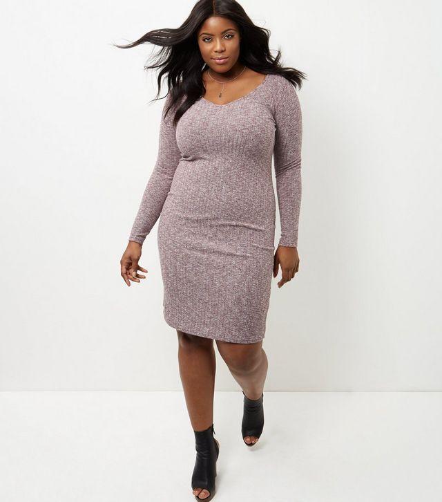 ba359db0af67 Comment porter la robe en maille quand on est ronde