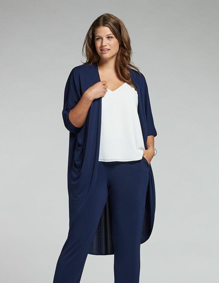 8802f283b9e5c Un tombé fluide pour ce modèle que l on peut porter coordonné avec le  pantalon navabi ainsi sur quasiment l ensemble de son dressing.