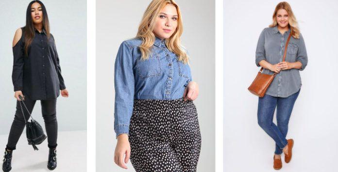 chemise en jean femme 11 mod les pour le printemps 2017. Black Bedroom Furniture Sets. Home Design Ideas