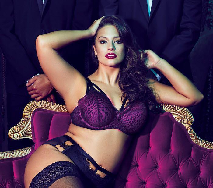 rose sexy et ultra glamour la lingerie grande taille ashley graham est arriv e en france. Black Bedroom Furniture Sets. Home Design Ideas