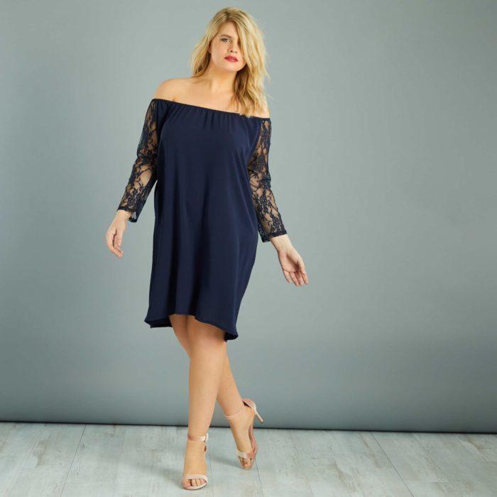 10 robes grande taille parfaites pour une soir e en amoureux. Black Bedroom Furniture Sets. Home Design Ideas