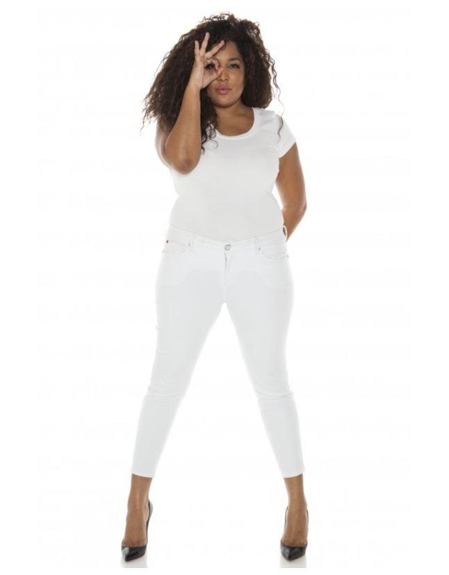 jean grande taille slink jeans met le feu notre dressing. Black Bedroom Furniture Sets. Home Design Ideas