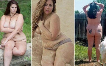 Grandes femmes flamboyantes nues