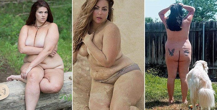 femmes nues Belle rondes