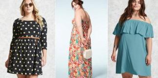 10 robes grande taille branchées à moins de 20 \u20ac