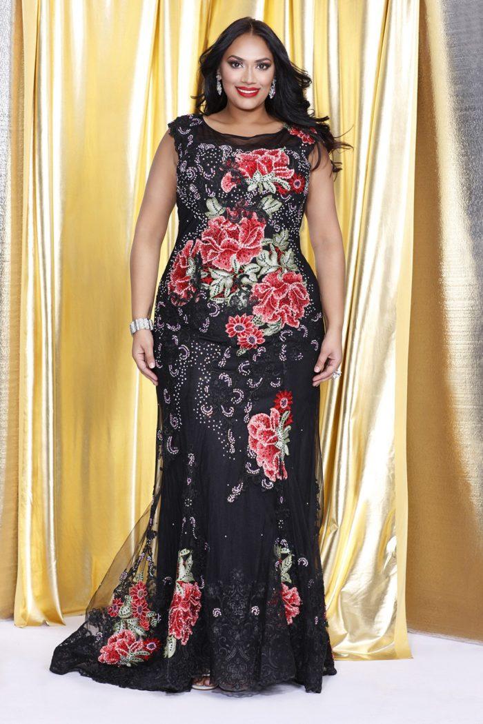 2595c0b9a2d On termine notre sélection spéciale robe de soirée grande taille ...