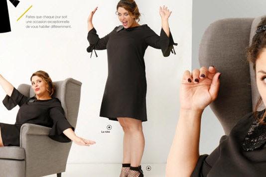 Mode grande taille magazine ma grande - La blanche porte nouvelle collection ...