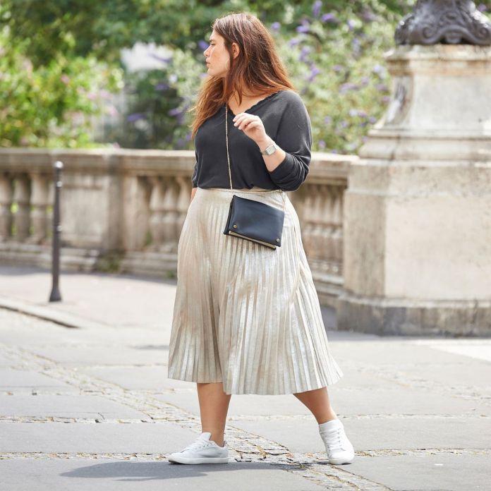Jupe plissée grande taille : 10 modèles pour l'automne hiver