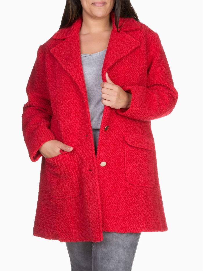 Manteau gris la halle