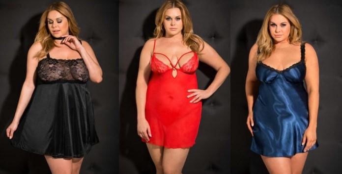 Vous cherchez votre nuisette grande taille ou un vêtement de nuit sexy pour  enflammer vos nuits aux côtés de votre partenaire   876533707a24
