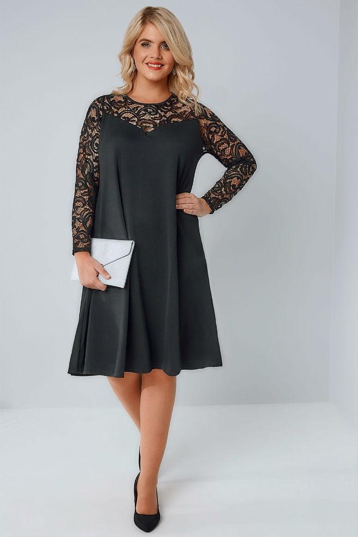 quelle est la bonne longueur pour une robe quand on est ronde. Black Bedroom Furniture Sets. Home Design Ideas