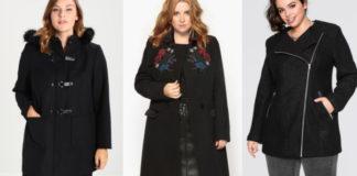 Manteaux longs femme grande taille