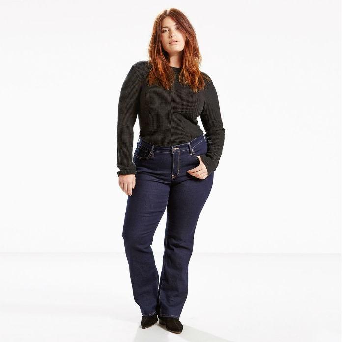 meilleur site web 418a4 7931b Jean bootcut grande taille femme : 10 modèles parfaits pour ...