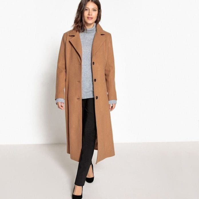 nouveau style 98881 3b738 Manteau long grande taille : nos 10 coups de cœur
