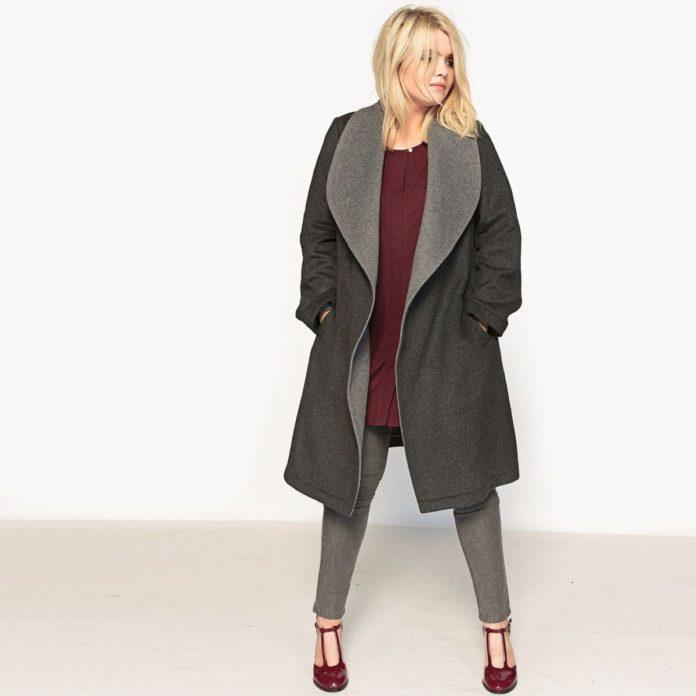 manteau long grande taille nos 10 coups de c ur. Black Bedroom Furniture Sets. Home Design Ideas
