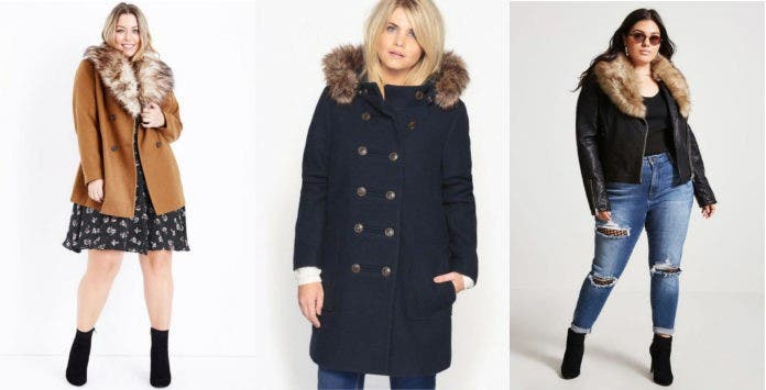 Manteaux et vestes en fausse fourrure