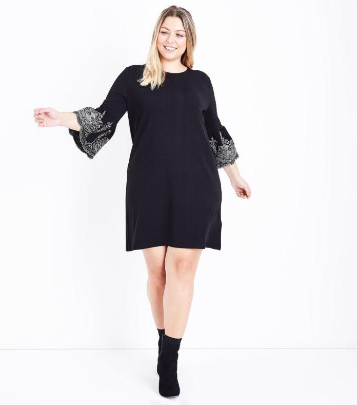 robe grande taille noire 10 mod les pour les f tes 2017. Black Bedroom Furniture Sets. Home Design Ideas