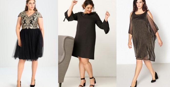 abf2729dca3 Robe grande taille noire   10 modèles pour les Fêtes 2017