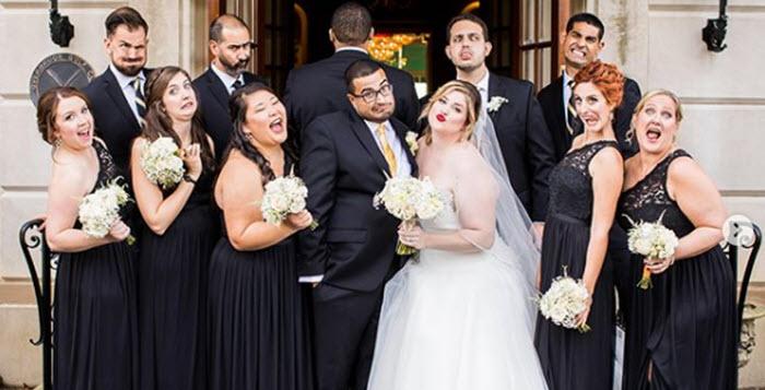Mariées rondes   les 30 plus belles photos de couple le jour J b3cee050b54