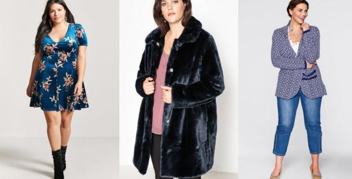 comment porter du bleu en hiver les 10 v tements grande taille shopper. Black Bedroom Furniture Sets. Home Design Ideas