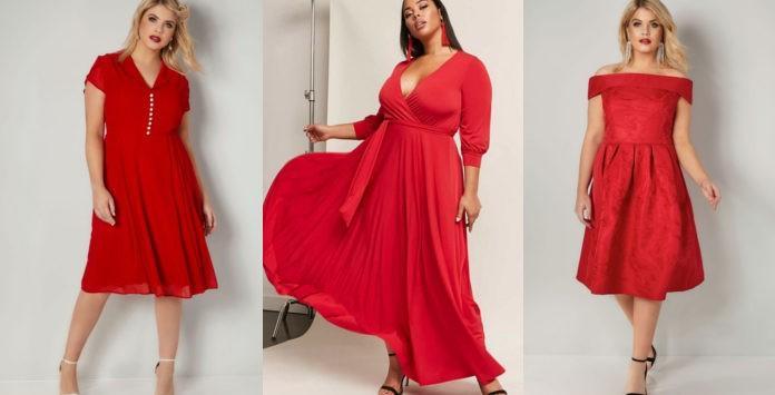 a8181dc426a 10 robes rouges grande taille pour le rendre