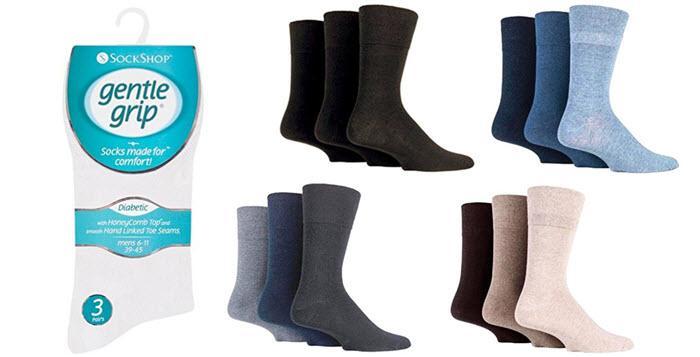 Nouveaux produits 8daf5 39612 Chaussettes pour diabétiques : pourquoi et où les trouver ?