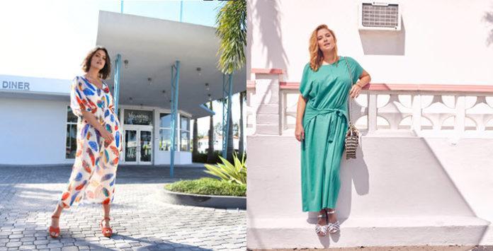 231cfd19cbc Elle est devenue un basique et un indispensable de notre garde-robe   la  robe longue grande taille ou maxi dress est notre meilleure alliée du  printemps et ...