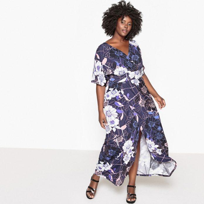 choisir sa robe longue grande taille pour briller tout l 39 t 2018. Black Bedroom Furniture Sets. Home Design Ideas