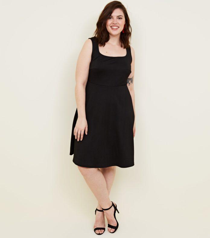 robe noire grande grande taille pour l 39 t 10 mod les. Black Bedroom Furniture Sets. Home Design Ideas