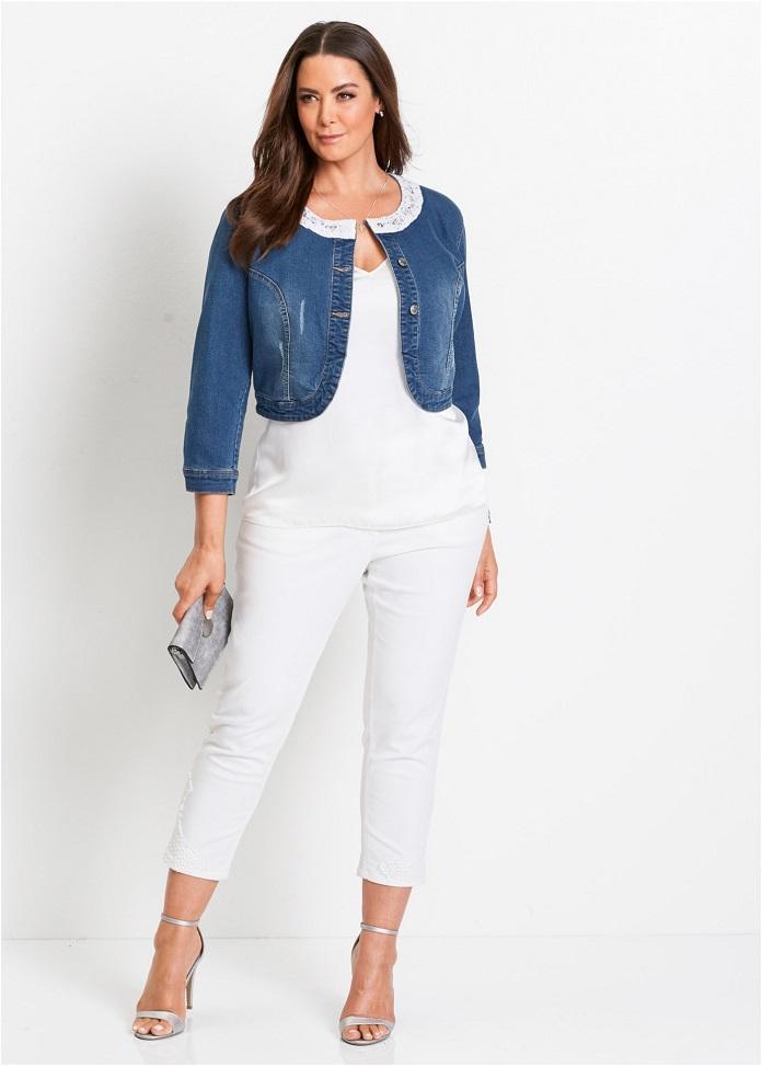 10 vestes en jean grande taille pour les femmes branch es. Black Bedroom Furniture Sets. Home Design Ideas