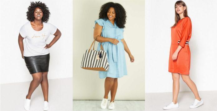 edd0a09e878 Comment porter jupe et robe avec des baskets   Nos conseils et notre  sélection shopping
