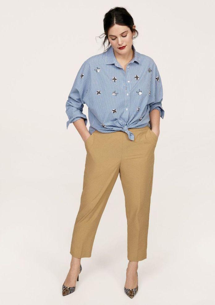 5205f48dff29f0 Comment porter la chemise nouée quand on a du ventre et quel modèle ...