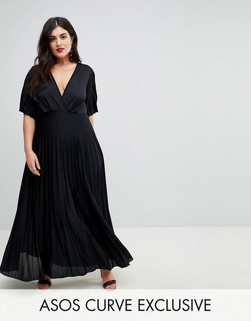 3 - La robe longue plissée style kimono aa9919feb4f