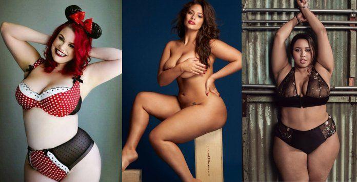 Calendrier de femmes rondes 2019 : 12 mois sexy