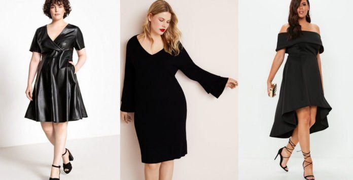 092c8be5e68 10 robes noires grande taille parfaites pour l automne-hiver 2018 2019