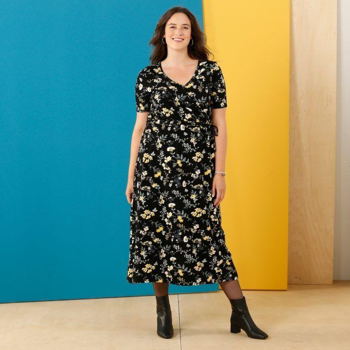 dernière sélection de 2019 apparence élégante moitié prix 10 robes grande taille fleuries pour ensoleiller votre hiver ...