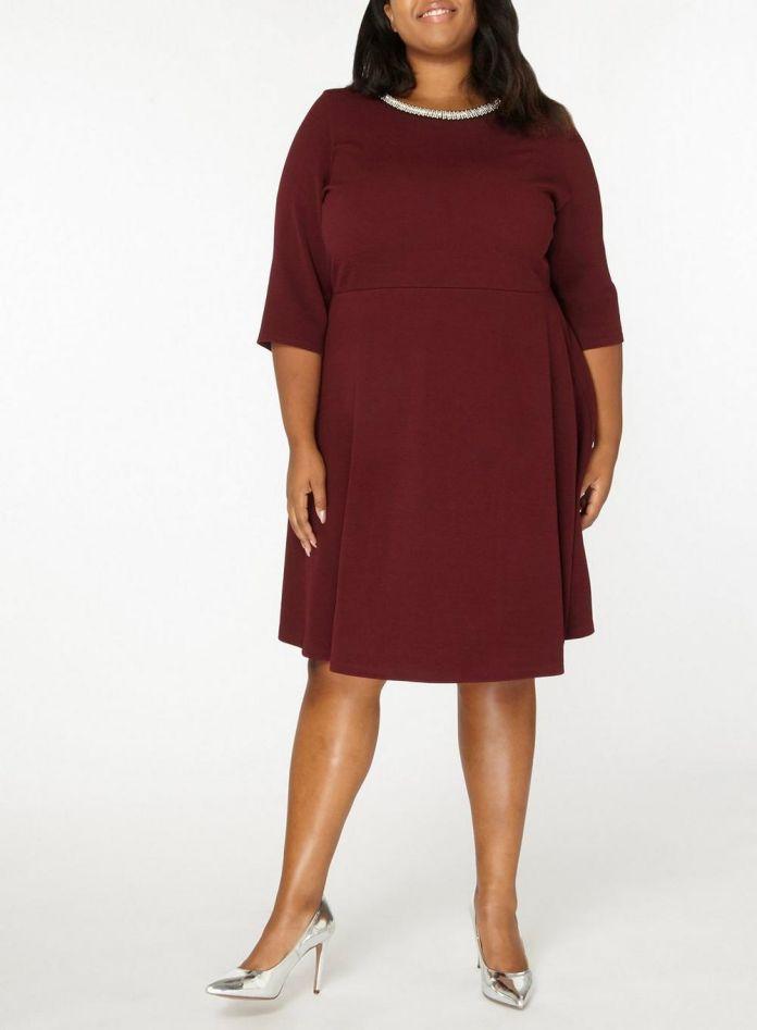 online store d9815 54c05 7 - La robe bordeaux