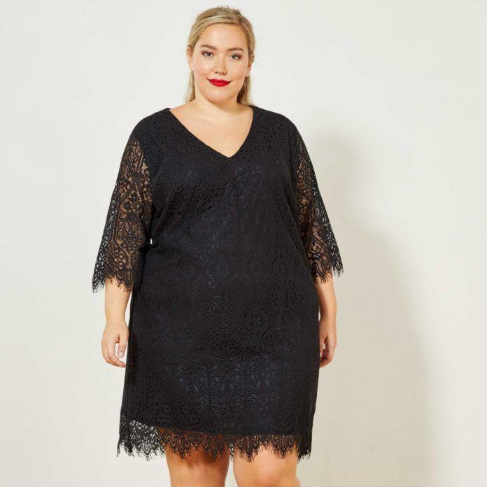 4fb21d9db000 8 - La robe noire en dentelle grande taille