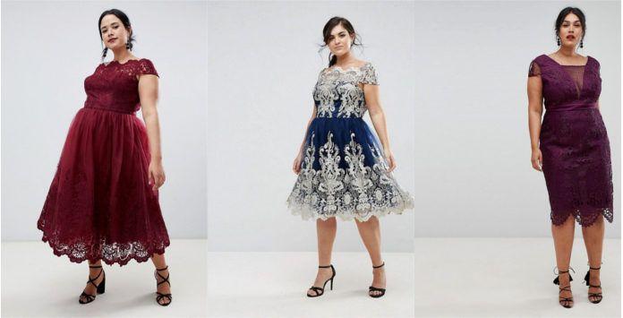 cc081abccaf Brillez en robe de soirée grande taille Chi Chi London