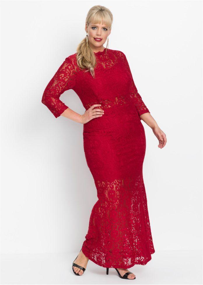 afa2cad30cea 6 - La maxi dress en dentelle rouge foncée