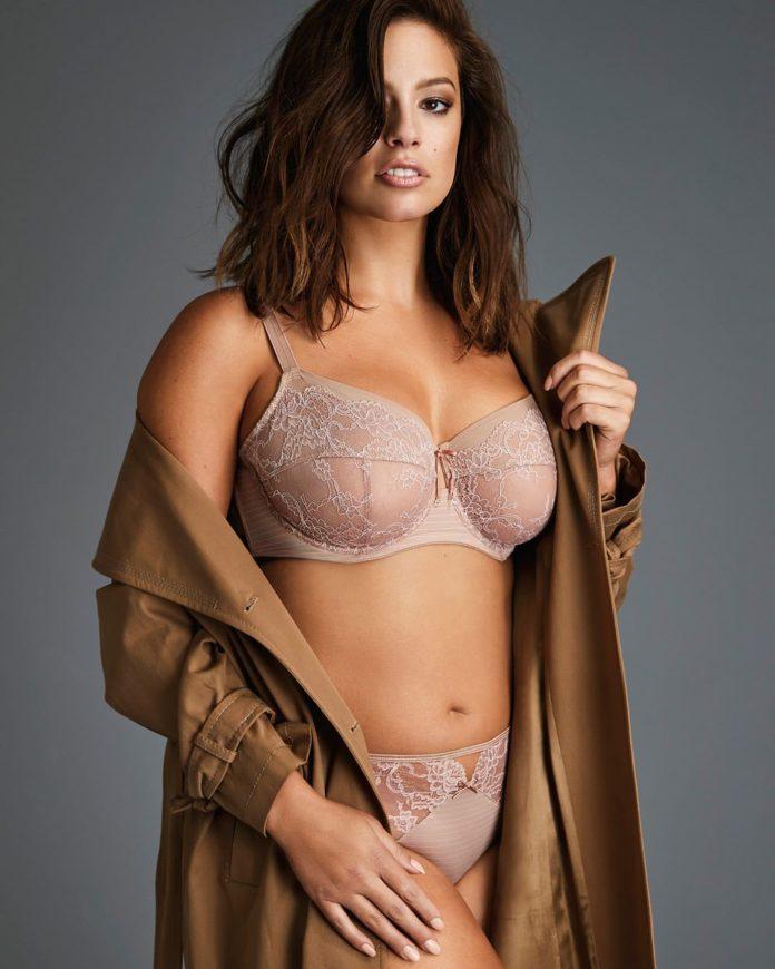 1a0b964e82856 Ces photos d'Ashley Graham en lingerie sont tout simplement magnifiques...  On se demande néanmoins comment elle a interprété le résultat de ce  shooting.