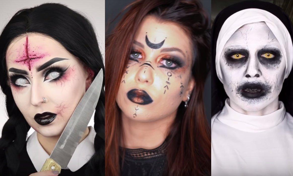 Halloween 10 Idees De Maquillages Flippants